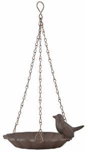 Vogeltränke kaufen, SIDCO Vogeltränke zum Hängen, Gußeisen